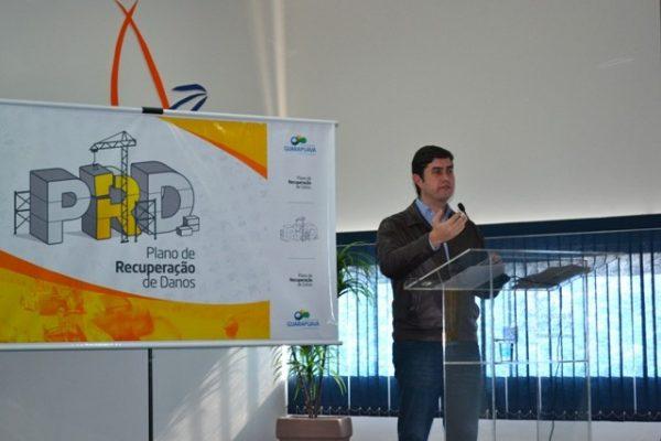 Guairacá oferece apoio irrestrito às ações de reconstrução do município