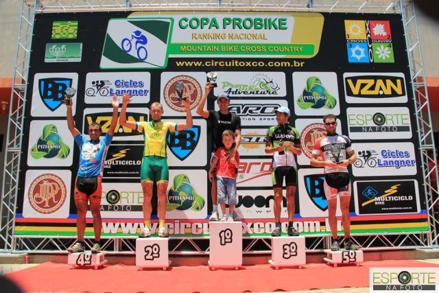 Marcos Cruz fica em quarto na Copa ProBike de Cross Country