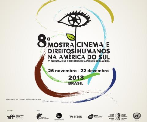 Inscrições continuam abertas para 8ª Mostra Cinema e Direitos Humanos