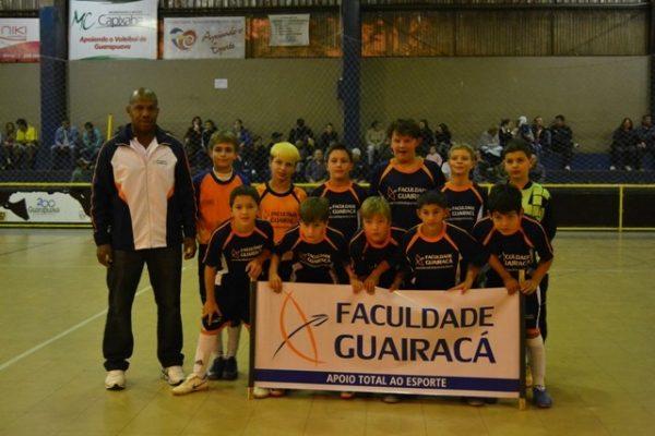 Escola de Futebol/Futsal Guairacá se mantém forte na Copa Verão