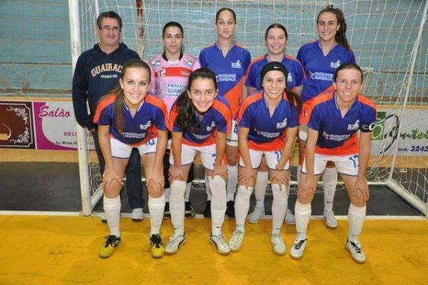 Futsal feminino vence amistosos e se prepara para competições