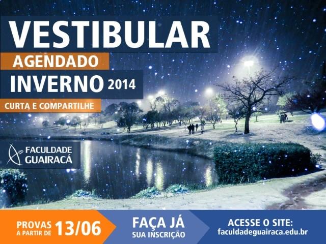 Faculdade Guairacá está com inscrições abertas para Vestibular de Inverno