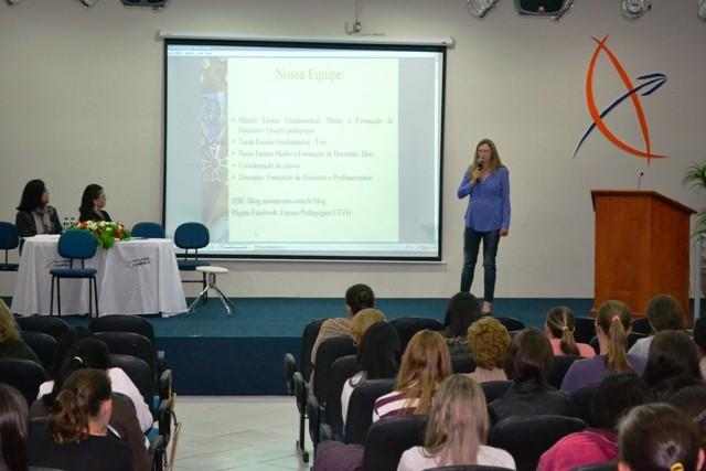 Educação: Seminário na Guairacá aborda organização da gestão pedagógica