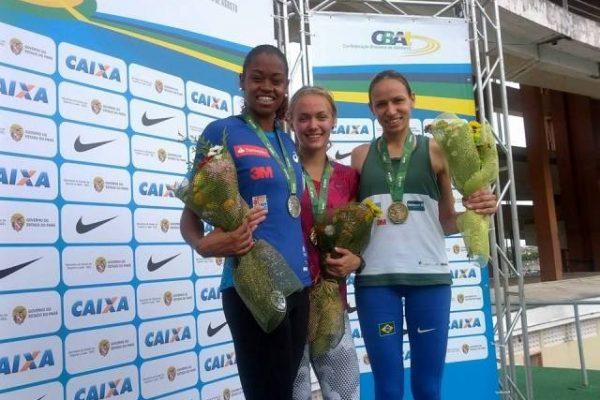Tatiane Silva é bronze no GP Internacional de Atletismo
