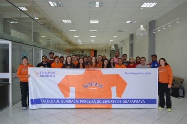 Atletas da Guairacá disputam Jogos Universitários em Cianorte