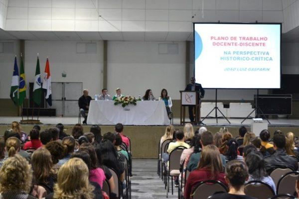 Palestra com João Luiz Gasparin abre II Jornada Integrada das Licenciaturas
