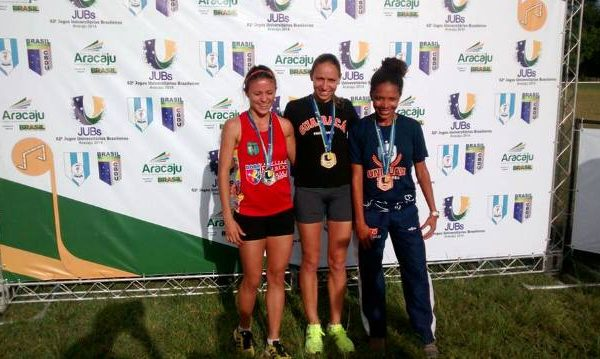 Atletismo da Guairacá é ouro nos Jogos Universitários Brasileiros