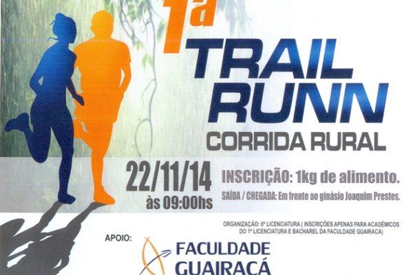 Educação Física promove 1ª Trail Runn e 1º Passeio Ciclístico Solidário em Guarapuava