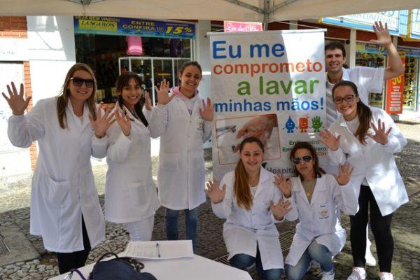 Enfermagem realiza ação de conscientização no Dia Mundial da Higienização das Mãos