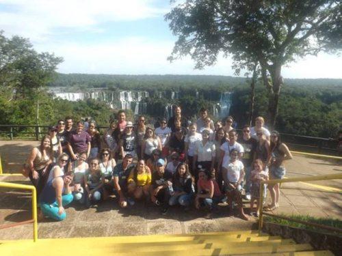 Acadêmicos fazem viagem cultural para Foz do Iguaçu