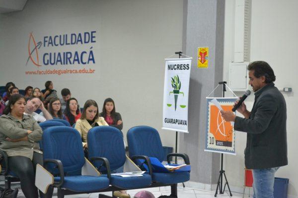 Nucress promove encontro de assistentes sociais do município na Guairacá