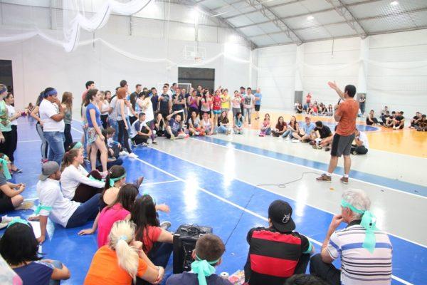 Gincana intercursos movimenta a Guairacá na Semana Pedagógica Integrada