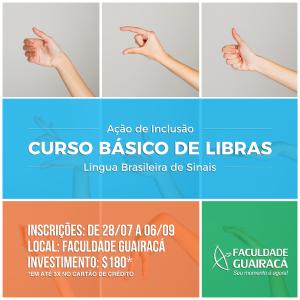 Faculdade Guairacá oferece curso básico de Libras