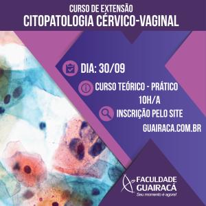 Abertas as inscrições para o curso de extensão em Citopatologia Cérvico-Vaginal