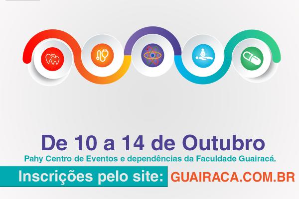 II Semana Integrada dos Cursos da Saúde é destaque na Guairacá