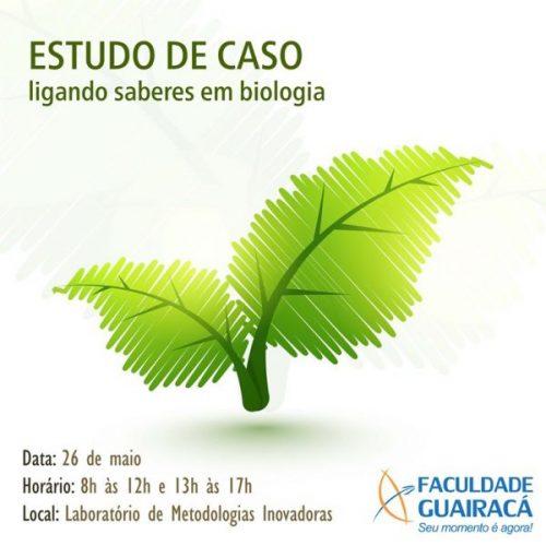 'Estudo de caso: ligando saberes em biologia' tem inscrições abertas na Guairacá