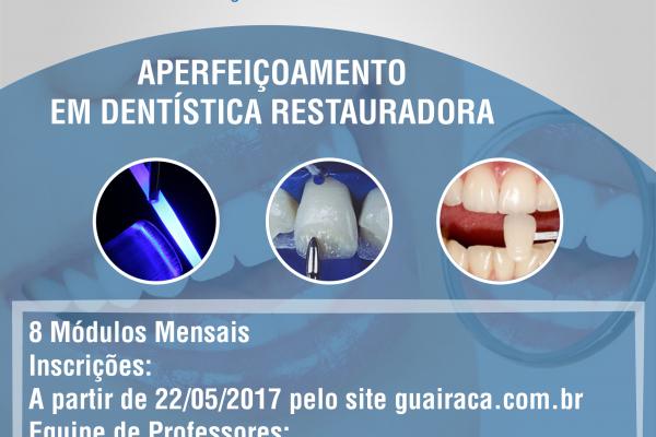 Faculdade Guairacá promove curso de aperfeiçoamento em Dentística Restauradora