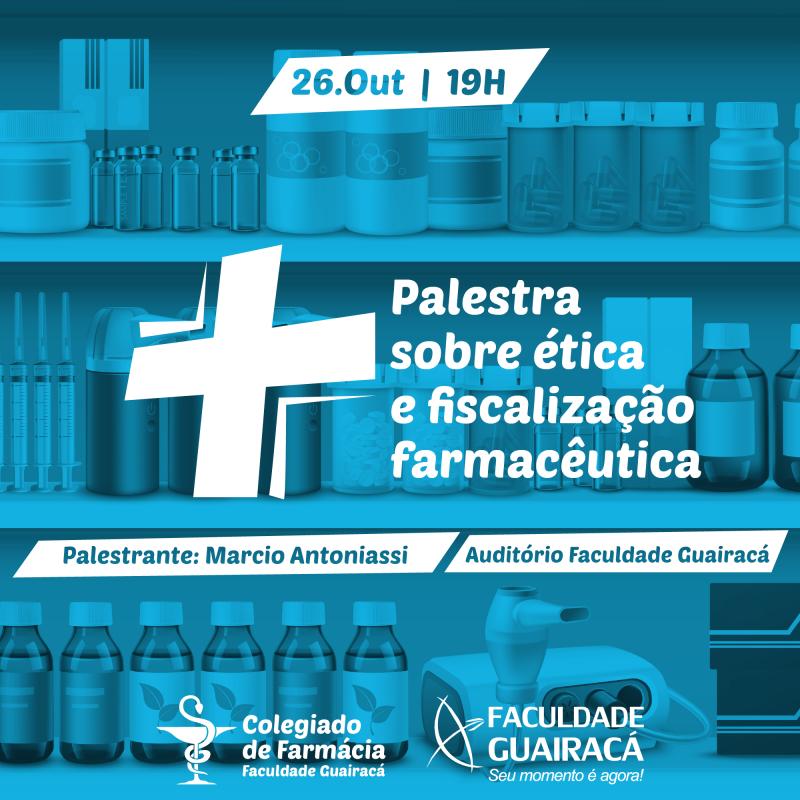 Faculdade Guairacá recebe palestra do Conselho Regional de Farmácia