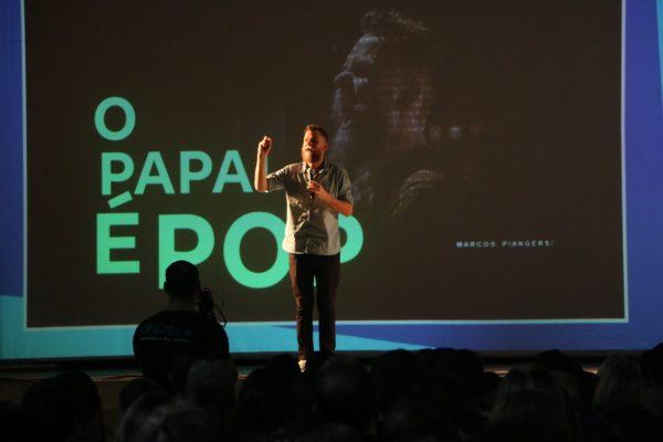 Palestra com Marcos Piangers reúne centenas de pessoas em Guarapuava