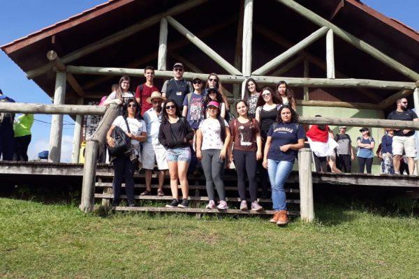 Saída de campo leva estudantes da Faculdade Guairacá ao Parque Estadual do Guartelá