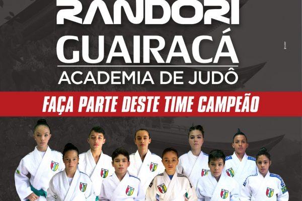 Academia Randori/Guairacá de Judô comemora as conquistas de 2018