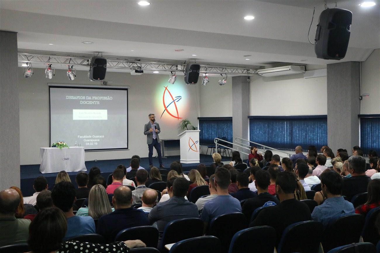 Faculdade Guairacá promove Semana Pedagógica