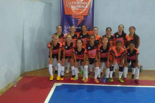 Futsal feminino da Guairacá abre temporada de jogos com vitória em Reserva do Iguaçu