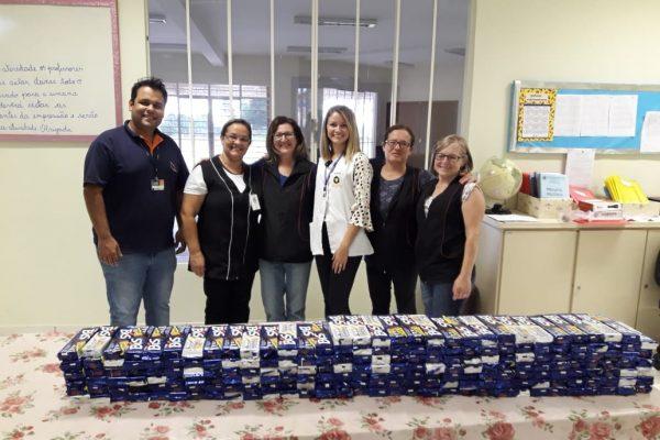 Páscoa solidária: Guairacá faz entrega dos chocolates arrecadados em campanha