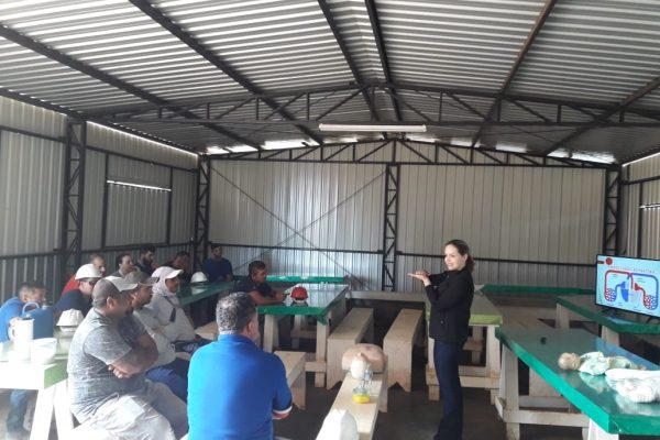 Guairacá em ação: trabalhadores da construção civil recebem treinamento de primeiros socorros
