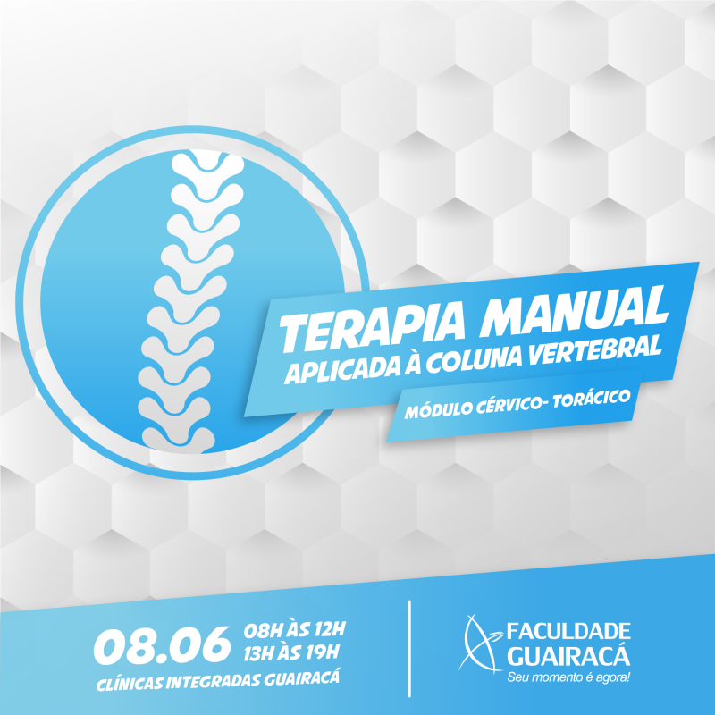 Faculdade Guairacá promove curso de terapia manual aplicada à coluna vertebral
