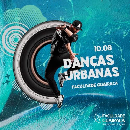 Abertas as inscrições para workshop de danças urbanas na Faculdade Guairacá