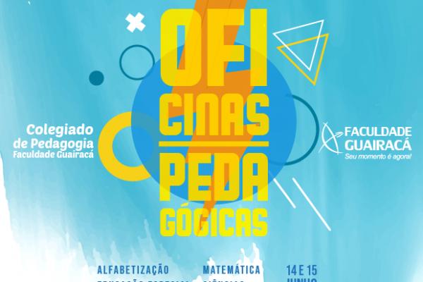 Colegiado de Pedagogia da Guairacá abre inscrições para as Oficinas Pedagógicas