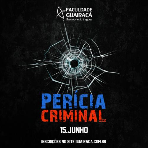 Faculdade Guairacá promove palestra 'Criminalística: manutenção da cena do crime'