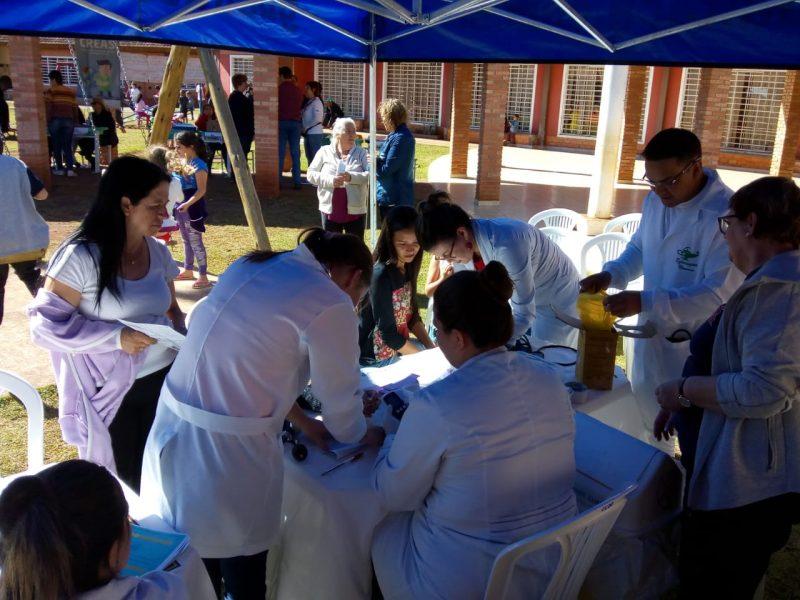 Guairacá oferece serviços de saúde em mais uma edição do Programa Mulher Alerta