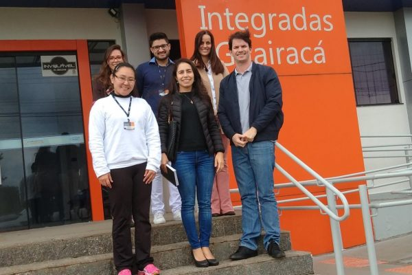 Representantes da Secretaria de Saúde de Ivaiporã visitam as Clínicas Integradas Guairacá