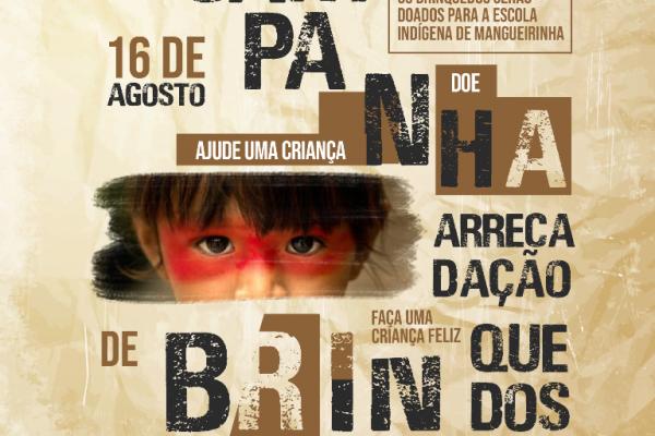 Campanha na Guairacá arrecada brinquedos para escola indígena de Mangueirinha