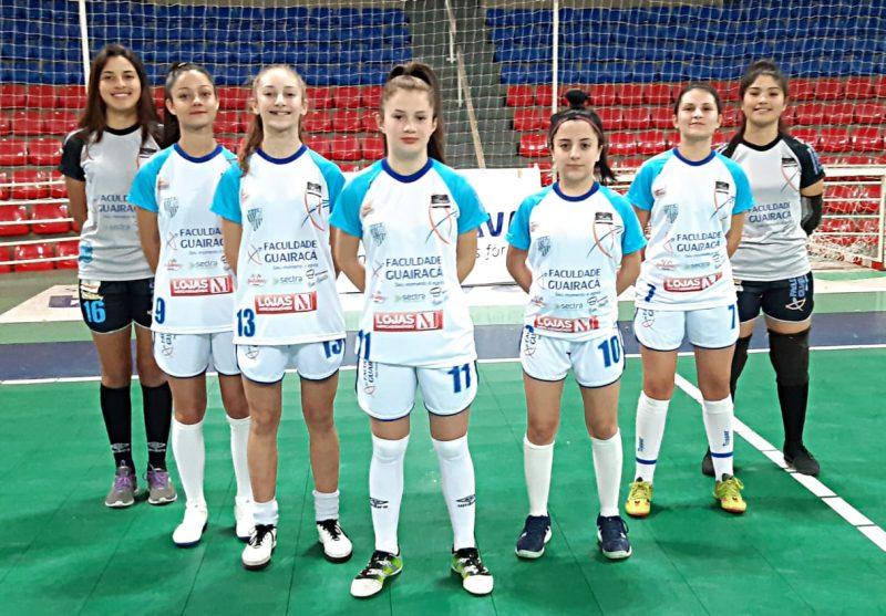 Equipe de futsal feminino da Guairacá continua na disputa do Campeonato Paranaense