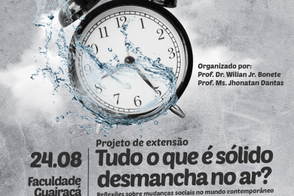 Evento na Guairacá traz reflexões sobre as mudanças sociais na contemporaneidade