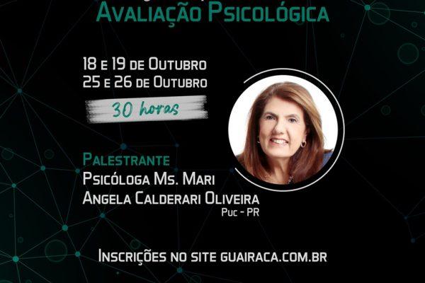 Faculdade Guairacá promove curso de atualização em avaliação psicológica