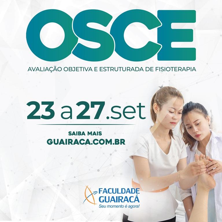 Colegiado de Fisioterapia da Faculdade Guairacá realiza mais uma edição do OSCE
