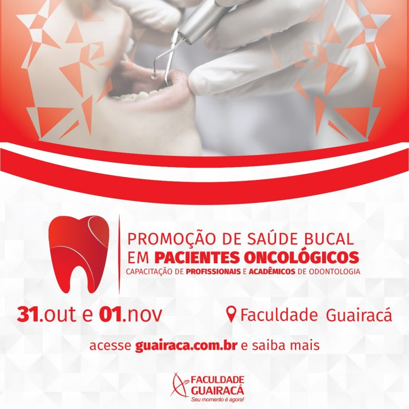 Faculdade Guairacá promove capacitação em promoção da saúde em pacientes oncológicos