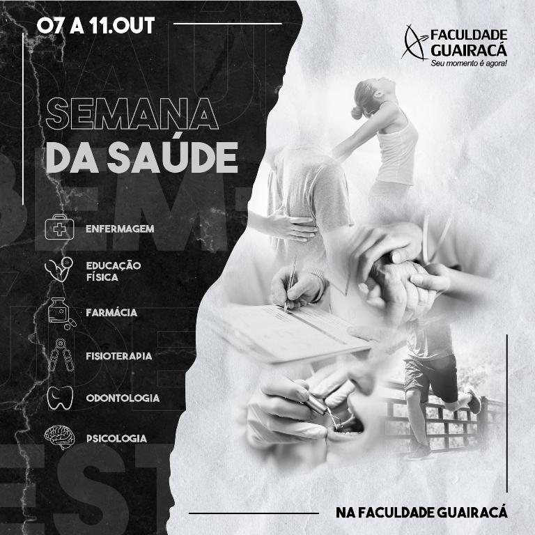Faculdade Guairacá recebe a ex-ginasta Laís Souza para abertura da Semana da Saúde