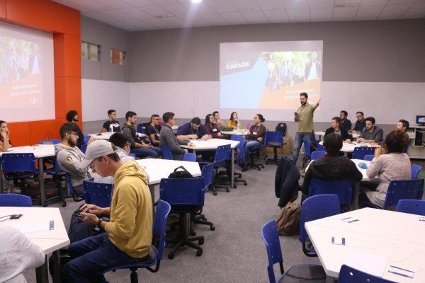 Aula inaugural do Startup Garage acontece na Guairacá