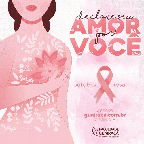 Faculdade Guairacá prepara programação especial em alusão ao Outubro Rosa