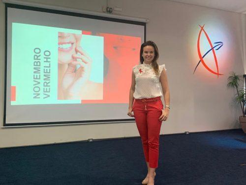 Lançada na Guairacá a campanha Novembro Vermelho, de conscientização contra o câncer bucal
