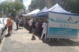 Faculdade Guairacá participa de ação de conscientização de combate a obesidade