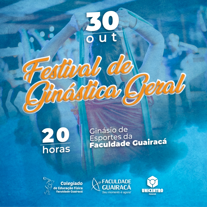 Faculdade Guairacá promove Festival de Ginástica Geral