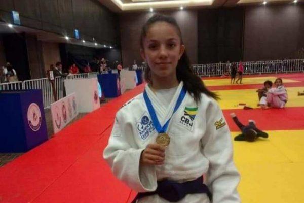 Judoca da Academia Randori/Guairacá é campeã no Pan-Americano no México