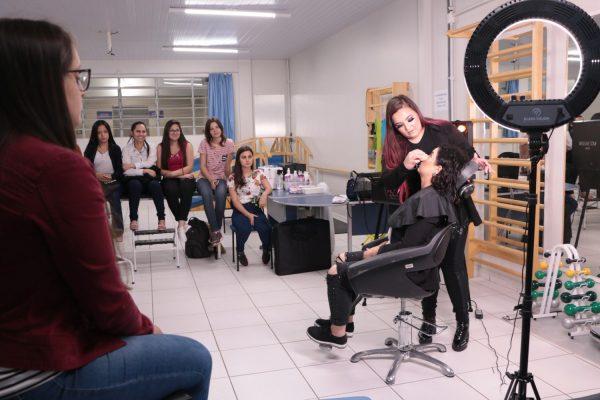 Colegiado de Estética e Cosmética da Guairacá promove II Noite da Beleza
