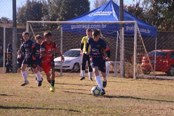 Guairacá e Athletico Paranaense realizam observação técnica de atletas de todo o Estado